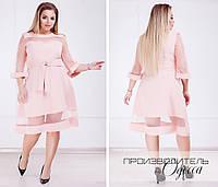 Красивое платье Батал Адела, фото 1