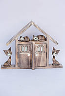 "Ключница ""Домик котят"",40см* 30см"