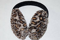 Теплые наушники Мелкий Леопард