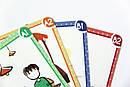 Англійські картки з неправильними дієсловами ENGLISH IRREGULAR VERBS Flashcards, фото 3