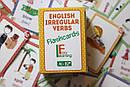 Англійські картки з неправильними дієсловами ENGLISH IRREGULAR VERBS Flashcards, фото 2
