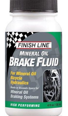 Тормозная жидкость FINISH LINE mineral oil, объём120 мл