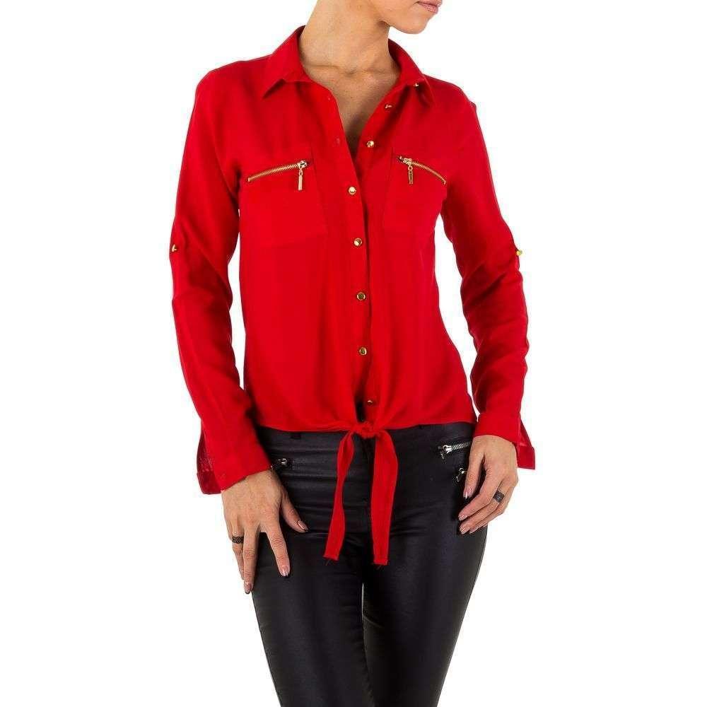 Женские рубашки от Milas - red - KL-L0022-05-red