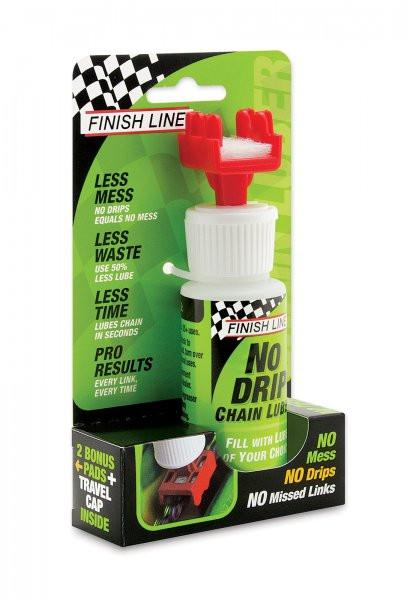 Тюбик Finish Line No Drip - апликатор для нанесения смазки на цепь