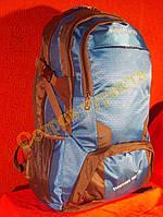 Рюкзак туристический городской спортивный Feifanlituo 8837 65* литров серо-голубой, фото 1