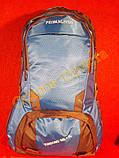 Рюкзак туристический городской спортивный Feifanlituo 8837 65* литров серо-голубой, фото 2