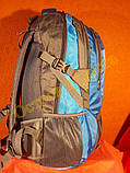 Рюкзак туристический городской спортивный Feifanlituo 8837 65* литров серо-голубой, фото 3