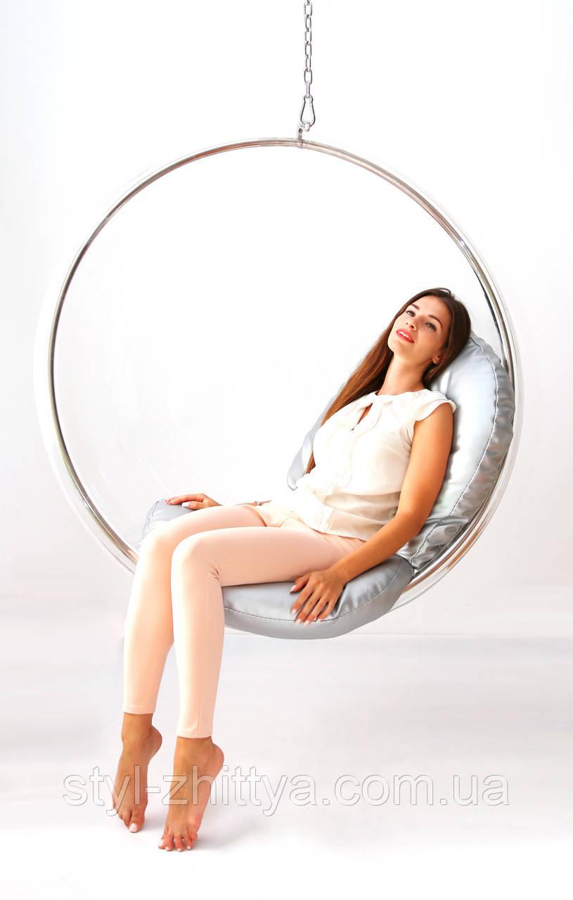 """Підвісне крісло-шар """"Бульбашка"""" Bubble Chair BIG - 113 cm"""