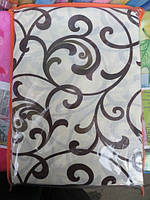 Двуспальное постельное белье Голд хлопок абстракция