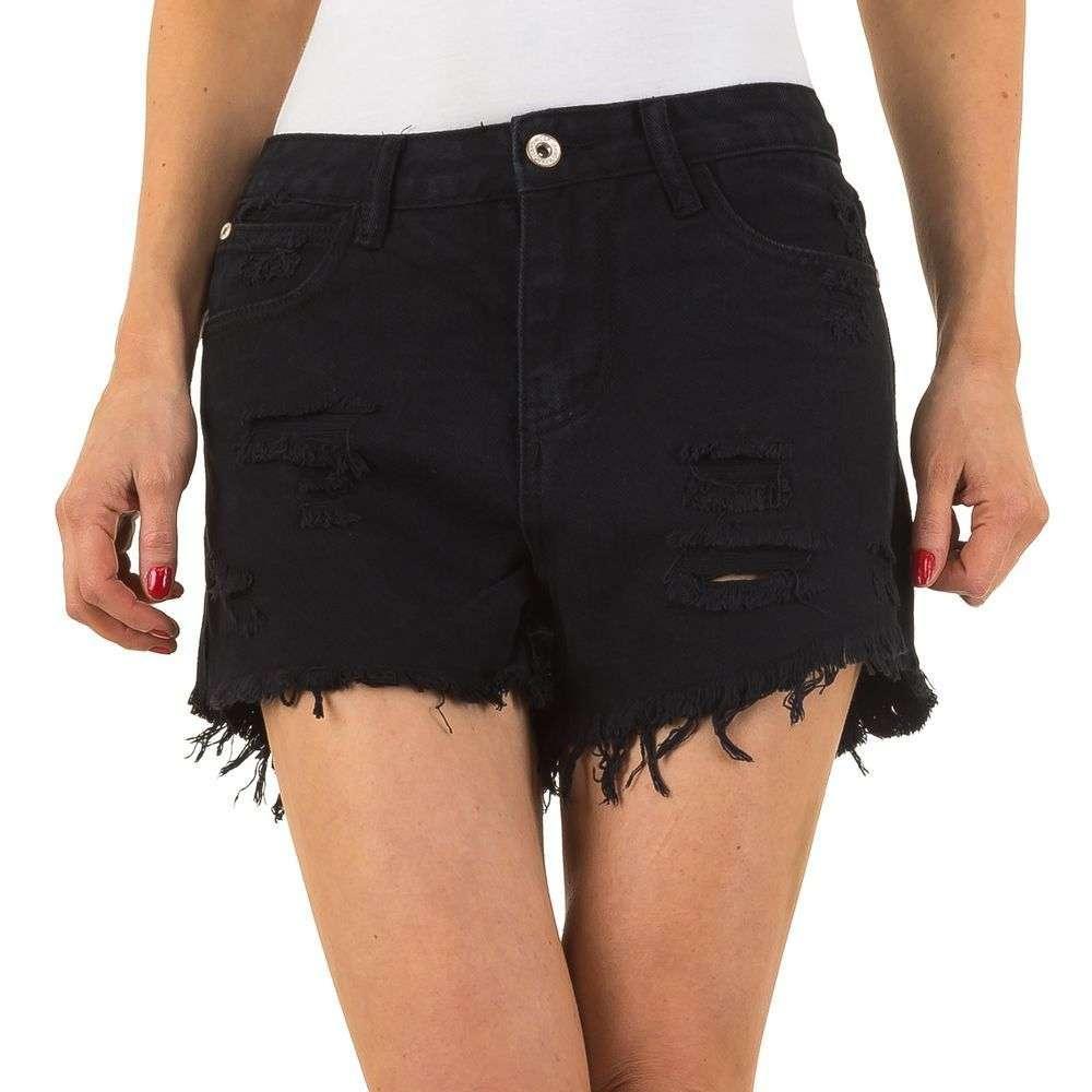 Женские шорты с Noemi Kent Paris - черный - KL-J-JE5539-black
