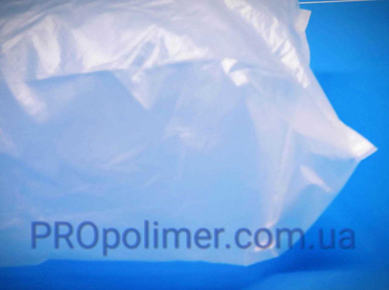 Пакеты полиэтиленовые ПНД 24х55см, с фальцем 2х6см, плотностью 30мкм, средних размеров фасовочный пакет