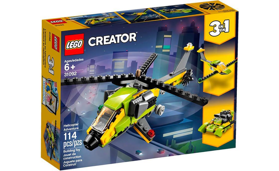 Лего Creator Пригода з гелiкоптером 31092