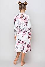 Детское платье для девочки L-12, размеры 134-164, фото 3
