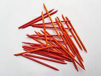 Апельсинові палички 1шт (11,5 см) різнокольорові, фото 1