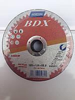 АБРОЗИВНЫЙ КРУГ NORTON BDX отрезной 125х1.6х22мм