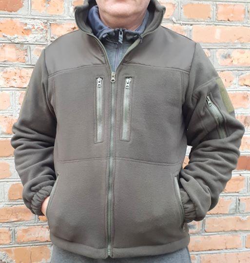 Флисовые кофты олива от ТМ АМРОК размер 52/54