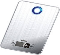 Весы кухонные 5 кг нержавеющая сталь SATURN ST-KS7804