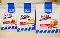 Гейнер для набора массы UNS Mass Attacker (1000 g) апельсиновий пиріг