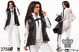 Спортивный женский костюм размеры 46-48,50-52,54-56, фото 5