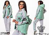 Спортивный женский костюм размеры 46-48,50-52,54-56, фото 6