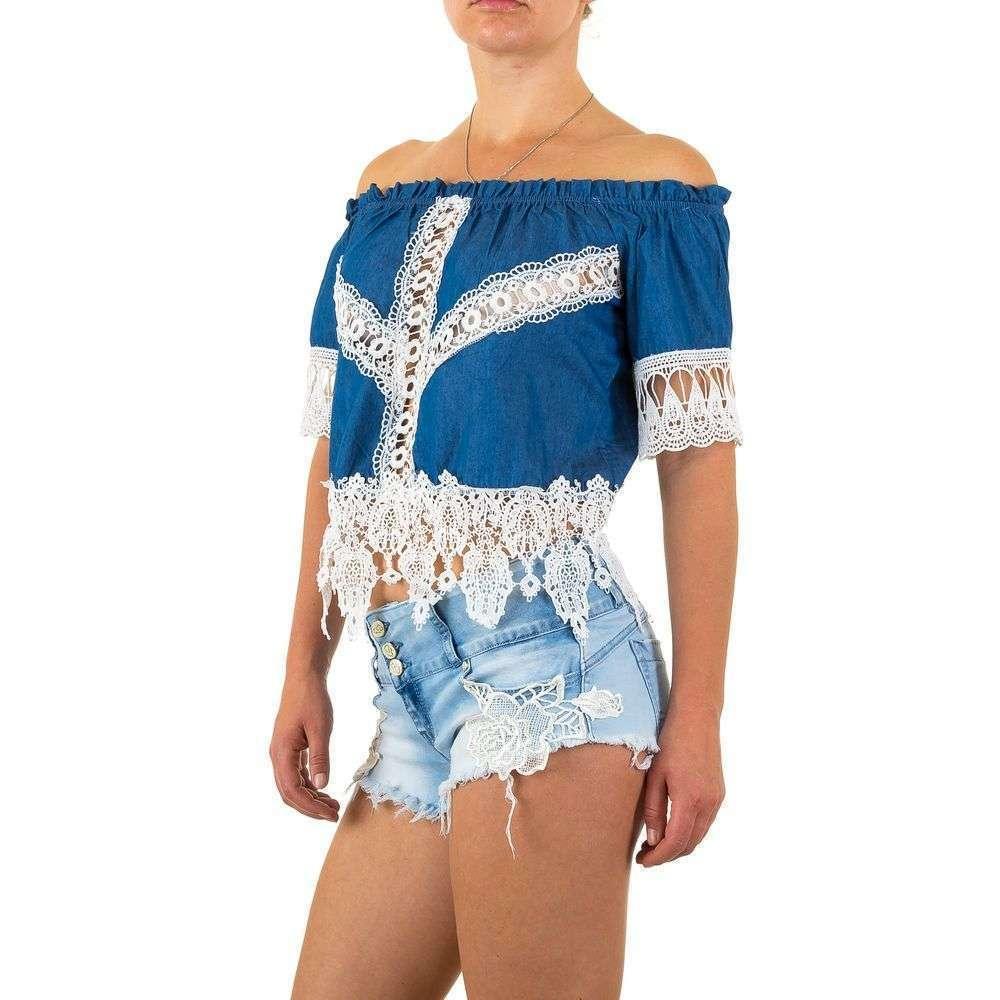 Женская блузка от Realty Jeans - blue - KL-A19-синий