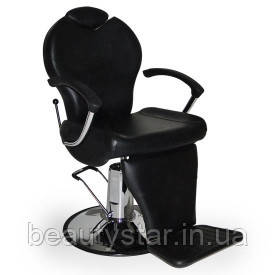 Мужское парикмахерское кресло B-17 черное