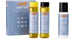SUBTIL COLOR OUT–средство для удаления искусственного пигмента (краски тёмных оттенков) с волос SUBTIL COLOR
