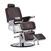 Мужское парикмахерское кресло Barber коричневое