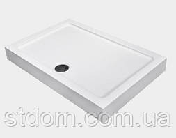 Прямоугольный душевой поддон 120x80 см Dusel D104
