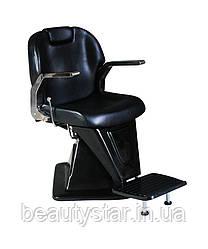 Чоловіче перукарське крісло Steel