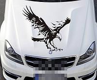 Дизайнерская наклейка на авто Орёл