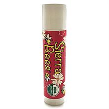 """Органический бальзам для губ Sierra Bees """"Pomegranate Lip Balm"""" гранатовый (4,25 г)"""