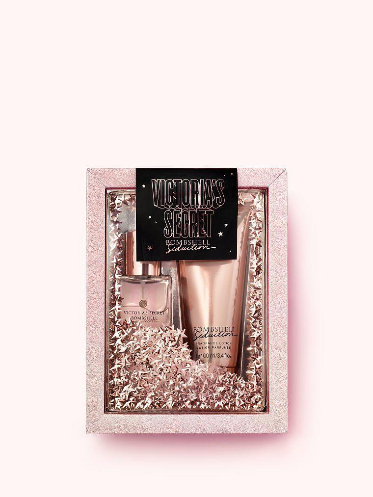 Подарочный набор Victoria's Secret Bombshell Лосьон+Парфюмированный спрей (оригинал)