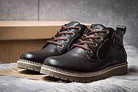 Зимние ботинки  на мехуTimberland, коричневые (30592) размеры в наличии ► [  40 43  ], фото 1