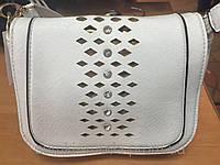 Клатчи  женский Сумка (1 цвета) (только ОПТ)белый/Женская сумка клатч через плечо