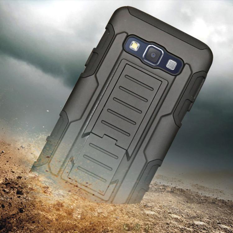 """Samsung A3 A300H GALAXY противоударный TPU PC чехол бампер для телефона  """"ARMY SHEILD"""""""