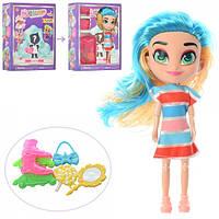 Кукла сюрприз Хэрдораблс Hairdorables BD019, 18см, аксессуары, микс видов, в кор-ке, 15,5-20,5-5,5см