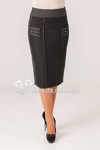 Женская юбка карандаш для офиса.  Роза