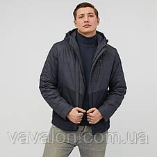 Куртка демисезонная Vavalon KD-801 Navy, фото 2