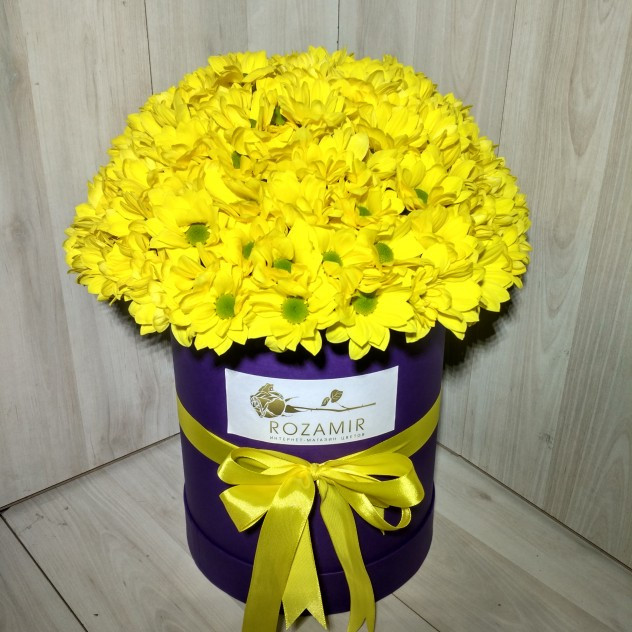 Хризантема кустовая желтая поштучно | купить недорого | доставка ... | 632x632