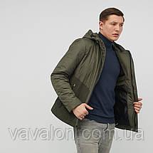 Куртка демисезонная Vavalon KD-801 Khaki, фото 2
