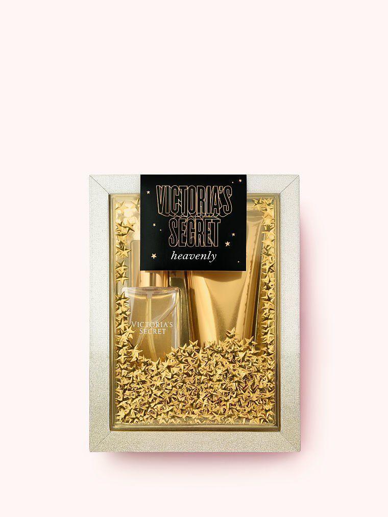Подарочный набор Victoria's Secret Heavenly Лосьон+Парфюмированный спрей (оригинал)