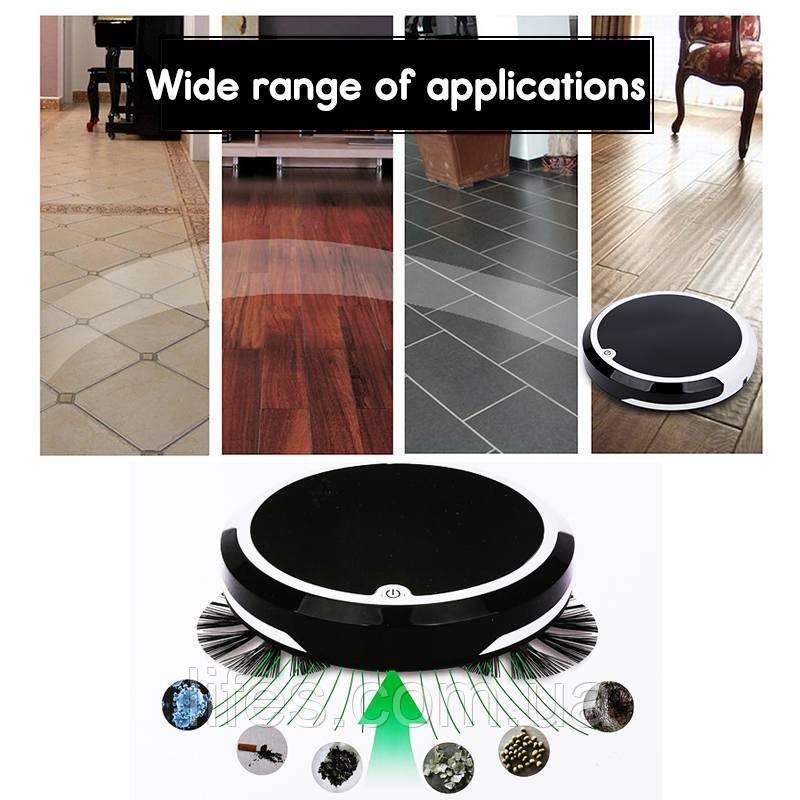 Робот - пылесос  Lifes-602. Назначение: Уборка всасыванием и влажная уборка, магнит, подметание