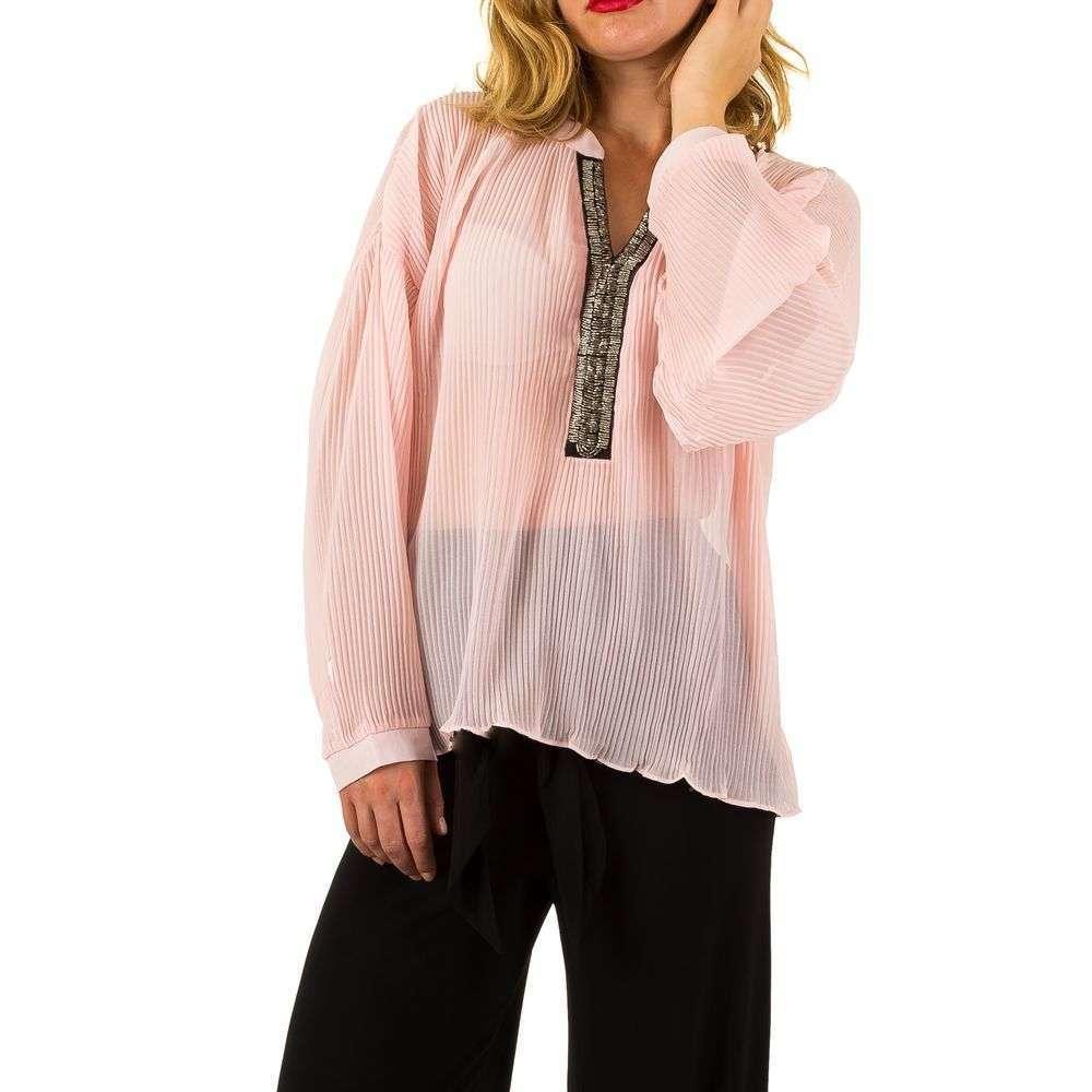 Женская блузка - Роза - KL-L463-Роза