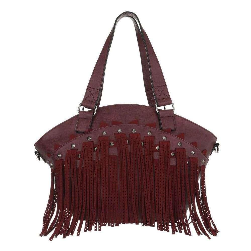Женская сумка шоппер-wine - ТА-5230-1-wine