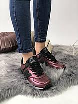 """Кроссовки New Balance 574 """"Бордовые/Черные"""", фото 2"""