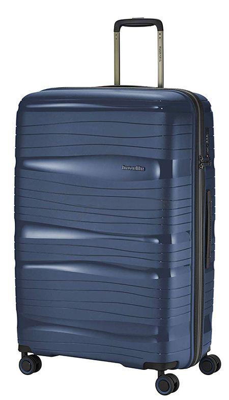 Чемодан-гигант пластиковый Travelite MOTION TL074949-20 105 л, синий