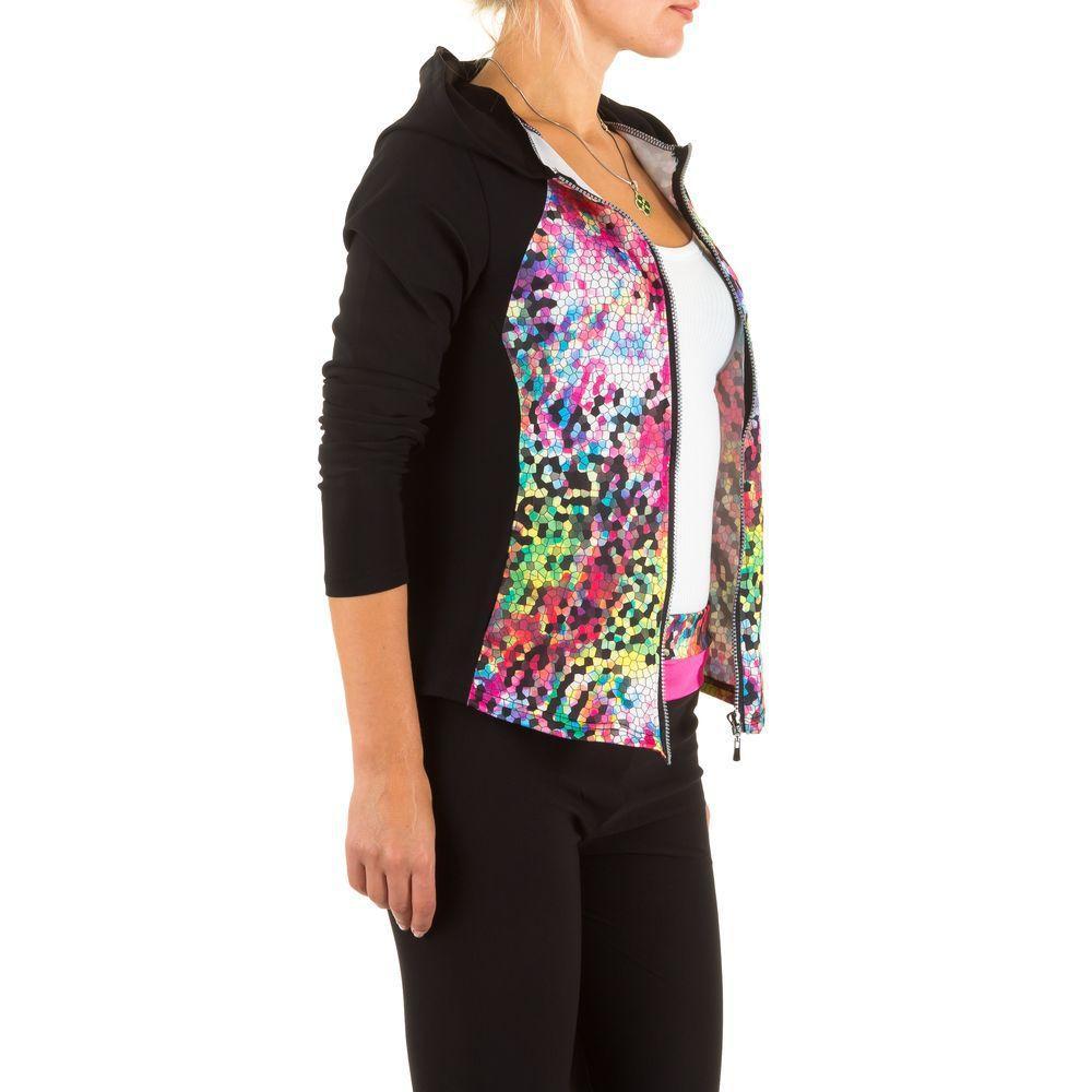 Женская спортивная кофта с принтом мозаики от Best Fashion (Франция), Разноцветный
