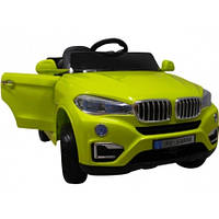Eлектромобіль Cabrio B12 зелений+EVA колеса