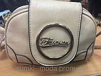 Клатч женский Сумки(только ОПТ)беж/Женская сумка клатч через плечо